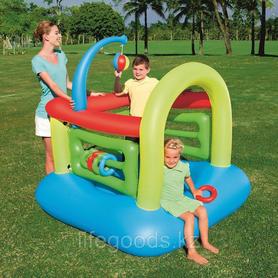Детский надувной игровой центр - батут 142х142х165см, Bestway 52122