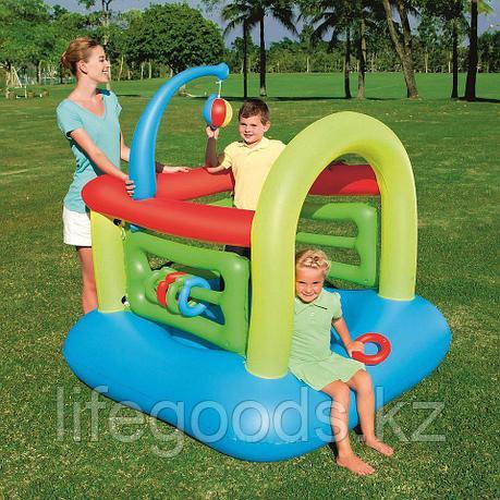 Детский надувной игровой центр - батут 142х142х165см, Bestway 52122, фото 2