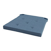 Подушка на стул ЮСТИНА темно-синий ИКЕА, IKEA  , фото 1