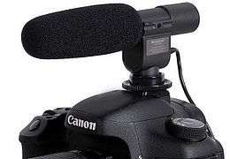 Микрофон SHENGGU SG-108 (штекер MiniJack 3,5 mm) для фотоаппарата