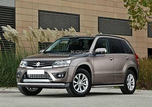 Защита переднего бампера d57 Suzuki Grand Vitara 2012-2016