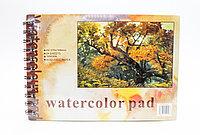 Скетчбук, А5, watercolor pad, 24 листа