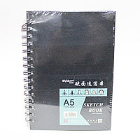 Скетчбук для зарисовок, А5, 80 листов