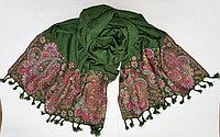 Индийский шарф (зеленый)