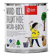 Натуральная защита для древесины с УФ-фильтром
