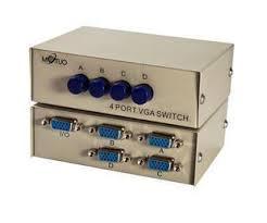 Switch свитчер сигнала VGA (на 1 монитор от 4 источников) переключатель
