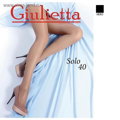 Колготки женские Giulietta SOLO, 40 цвет чёрный (nero), размер 2
