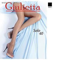 Колготки женские Giulietta SOLO 40 ден цвет чёрный (nero), размер 3