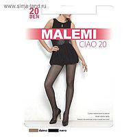 Колготки женские MALEMI Ciao 20 den, цвет чёрный (nero), размер 4