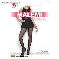 Колготки женские MALEMI Ciao 40 den, цвет чёрный (nero), размер 4