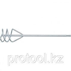 Миксер для песчано-гравийных смесей, 120 х 600 мм, оцинкованный, хвостовик SDS Plus// MATRIX