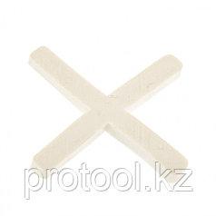 Крестики, 2,0 мм, для кладки плитки, 250 шт.// СИБРТЕХ /Россия