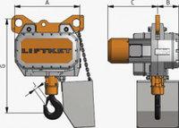 Электрические тали Liftket B13 и B15 грузоподъемностью 4 15 тонн