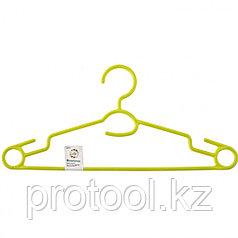Вешалка пластиковая  для легкой одежды 38 см, цветная// ELFE
