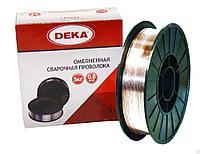 Проволока сварочная диам. 0,8 мм. Deka (5 кг. катушка)