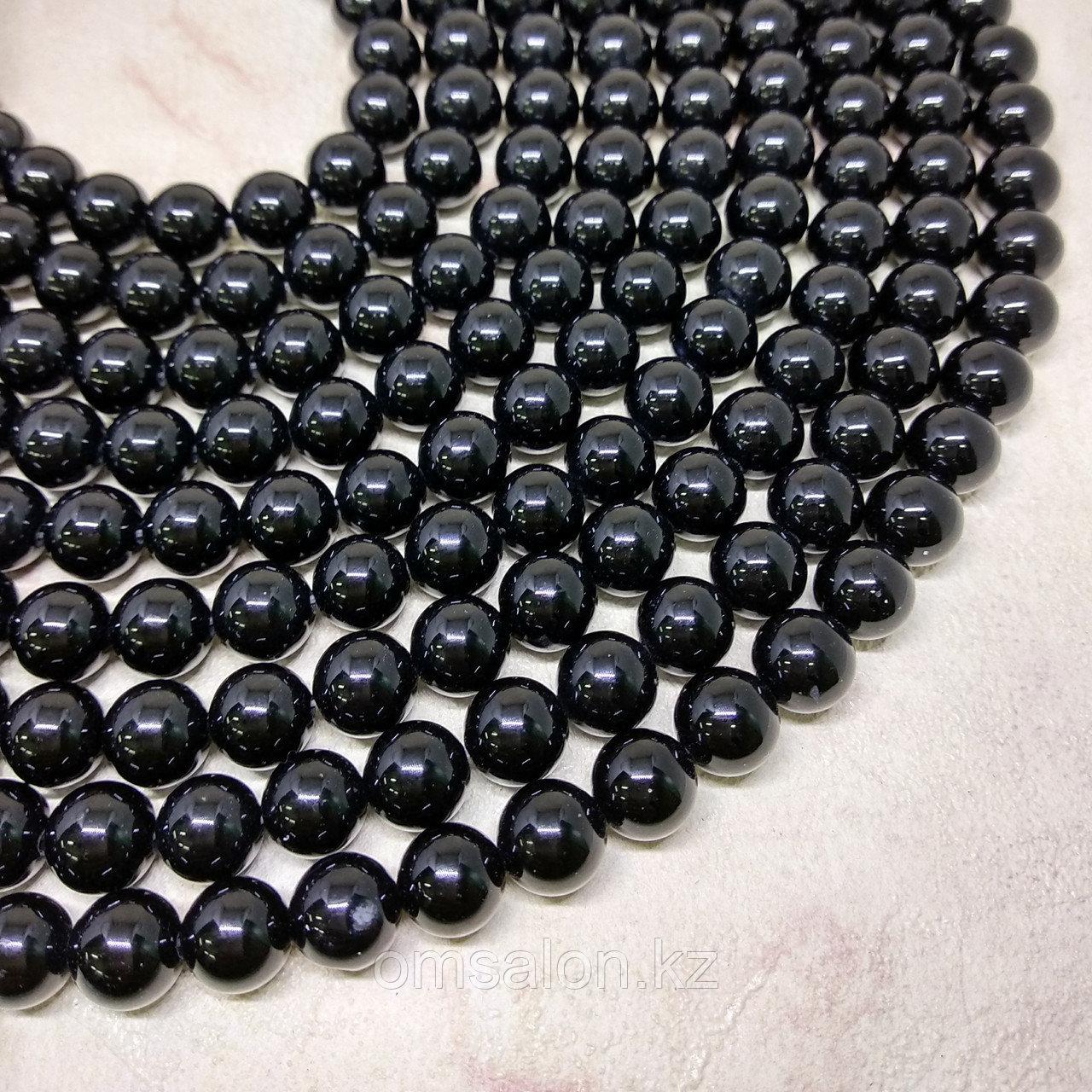 Оникс черный, 8мм