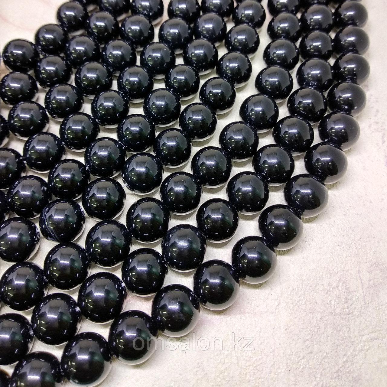 Оникс черный, 12мм