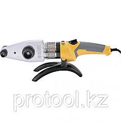 Аппарат для сварки пласт. труб DWP-2000, Х-PRO, 2000Вт, 300 град.,компл насадок, 20 - 63 мм// Denzel