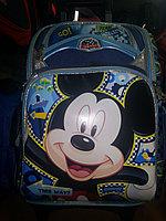 Рюкзак со съемными колесами Микки Маус