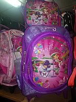 Рюкзак на колесах + сумочка