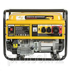 Генератор бензиновый GE 7900, 6,5 кВт, 220В/50Гц, 25 л, ручной старт// DENZEL