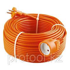 Удлинитель-шнур силовой, 15м, 1 розетка// Stern