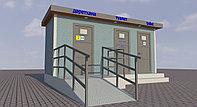 Биотуалет, Туалетный модуль