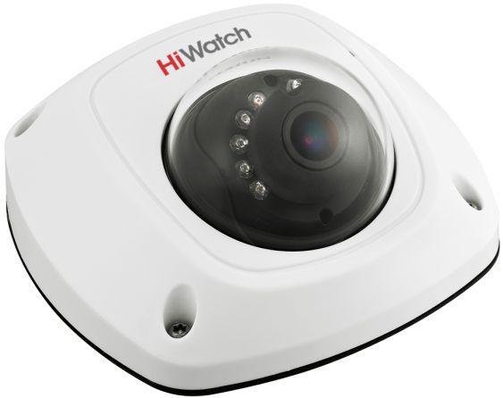 DS-T251 - 2MP HD-TVI высокочувствительная уличная купольная мини-камера с фиксированным объективом, встроенным микрофоном и ИК-подсветкой.