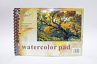 Скетчбук, А4, watercolor pad, 24 листа