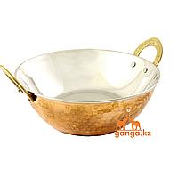 Медная посуда Жаровня (1.2 литра, диаметр - 19 см, высота - 7 см)