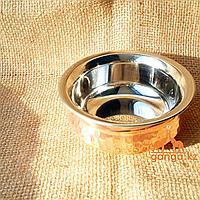 Медная чаша (0.4 литра, диаметр - 13 см, высота - 5 см)