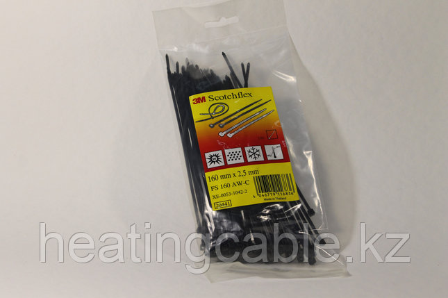 3M ™ Scotchflex ™ Cable Tie Series FS 160mm*2.5mm, фото 2