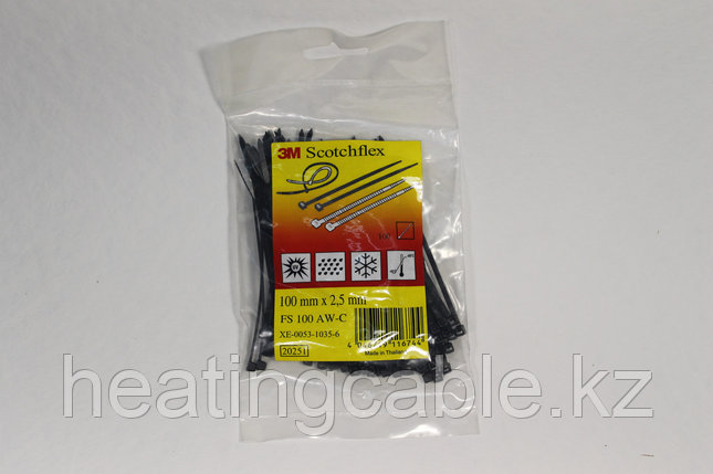 3M ™ Scotchflex ™ Cable Tie Series FS 100mm*2.5mm, фото 2