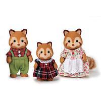 Calico Critters Семья Красных Панд