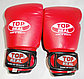Боксерские перчатки TOPREAL (детские, кожа/зам), фото 4