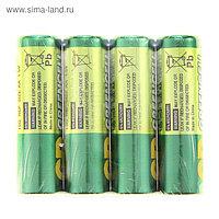 Батарейка солевая GP Greencell Extra Heavy Duty, AA, R6-4S, 1.5В, спайка, 4 шт.