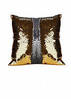 Подушка декоративная «РУСАЛКА» цвет золото/серебро Magic Pillow