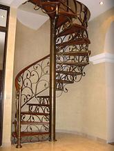 Художественная ковка лестница