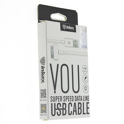 Кабель INKAX CK-13 30-pin iphone 4 USB, фото 2