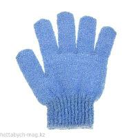 Мочалка-перчатка массажная однотонная, цвета МИКС 647557
