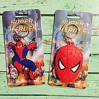 Брелок силиконовый Человек-паук (Spider-man)