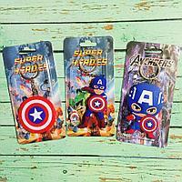 Брелок силиконовый Капитан Америка ( Capitan America