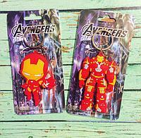 Брелок силиконовый Железный Человек(Iron-man)