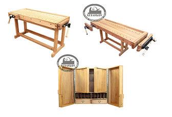 Столярные верстаки и мебель для мастерской