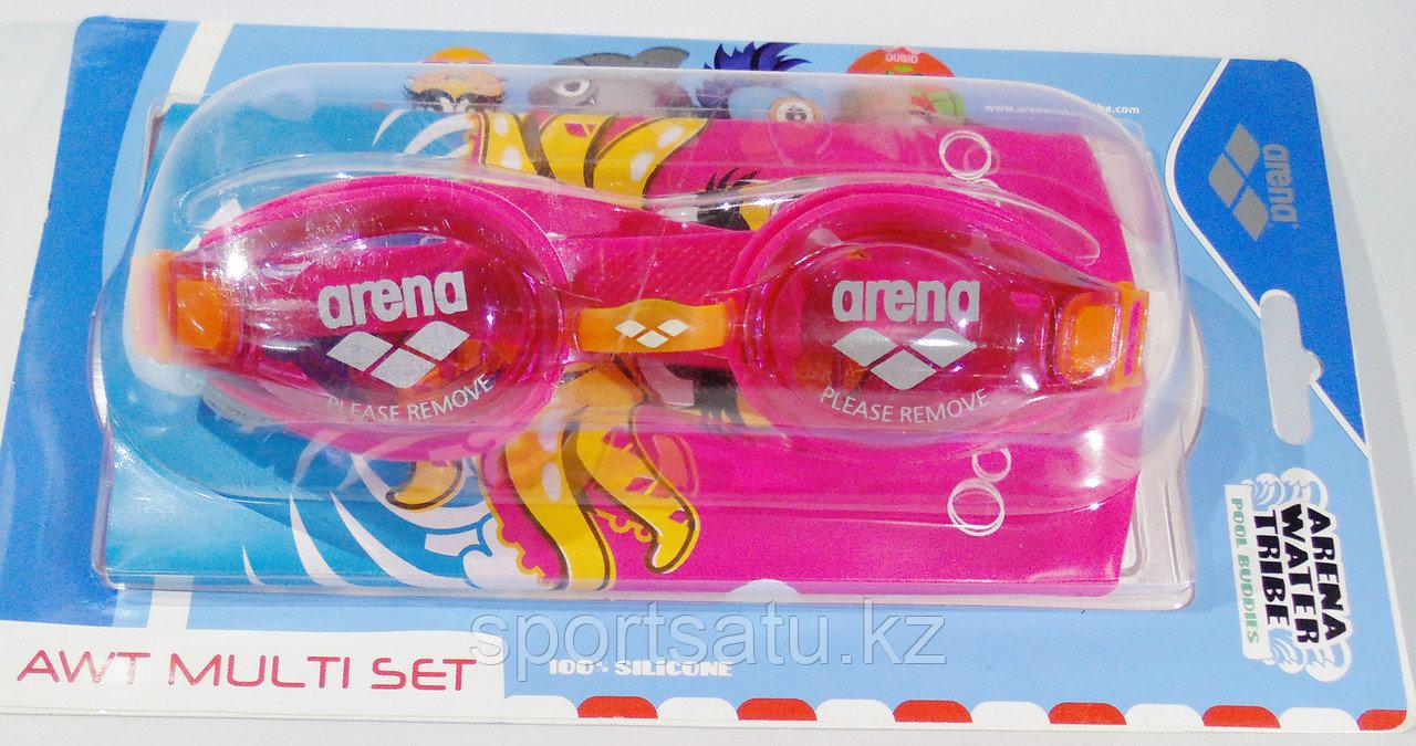 Очки для плавания ARENA в комплекте шапочка