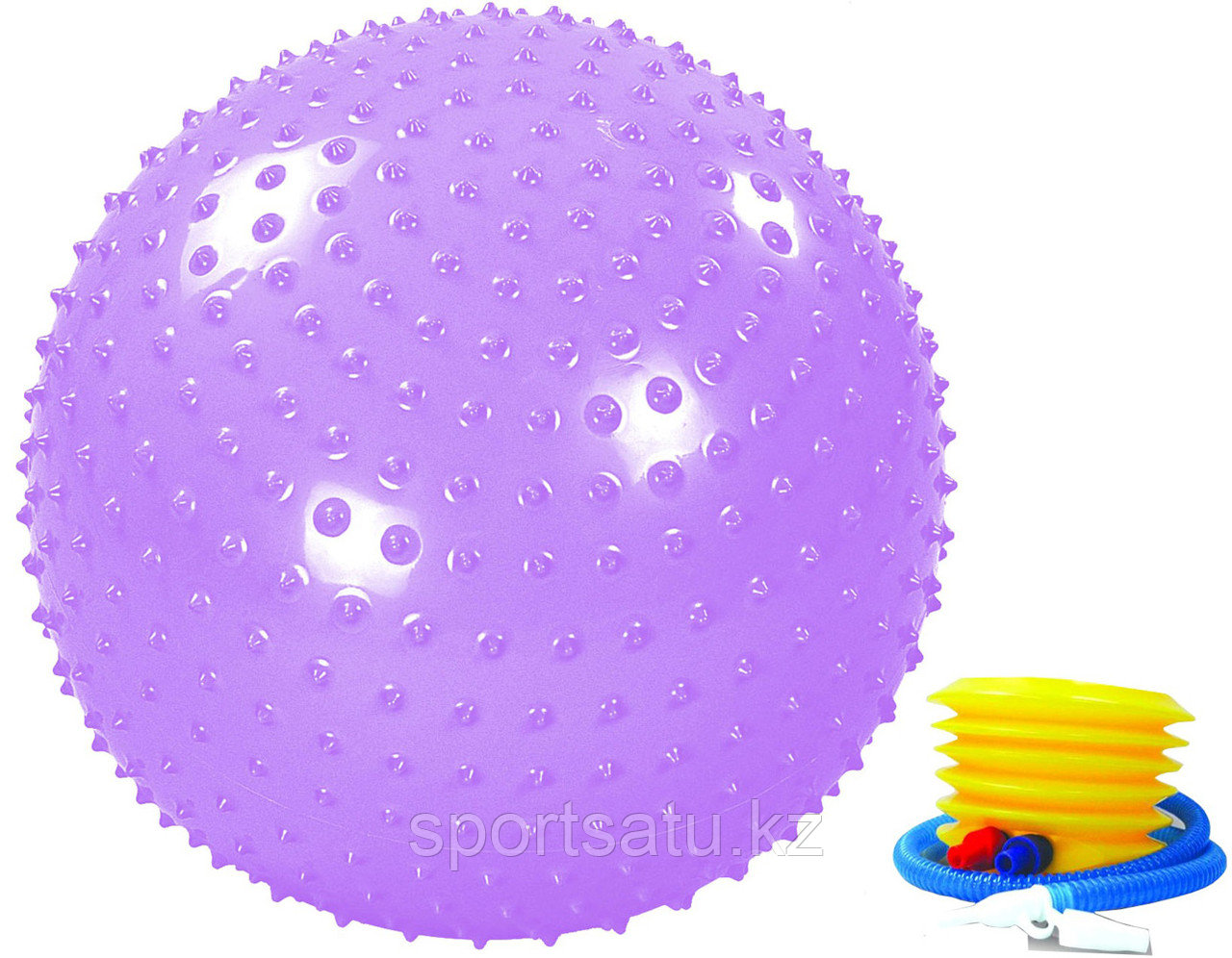Гимнастический мяч MASSAGE GYM BALL - фото 1
