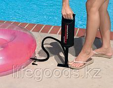Ручной насос 36см для накачивания матрасов, бассейнов и лодок, Intex 68614, фото 2