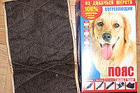 100% Пояс из собачьей шерсти согревающий