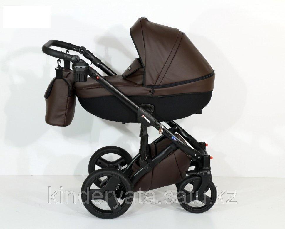 Детская коляска Verdi Mirage 3 в 1 Экокожа (7) brawn)