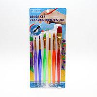 Набор разных кистей, разноцветные, 6 шт., фото 1